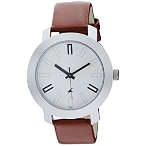 Fastrack Casual Analog White Dial Watch for Men -NM3120SL01 / NL3120SL01