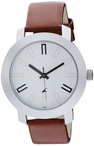 fastrack casual analog white dial men's watch - 3120sl01 Fastrack Casual Analog White Dial Men's Watch – 3120SL01 41e3IPHZenL