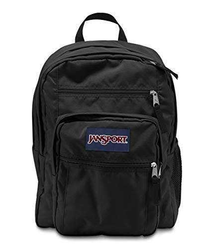 JanSport Schulrucksack Big Student, black, 34 liters, JTDN7008