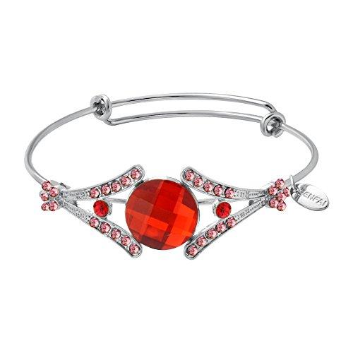 senfai Sun offener Anpassung Armreif Armband Bohemia Damen Charm Schmuck Party Xmas Geschenk Fashion (Crystal Wire Armreif)