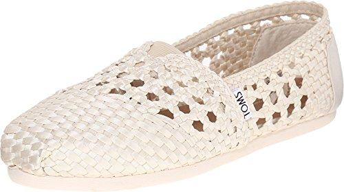 TOMS Women's Alpargata Satin Woven Whisper Ankle-High