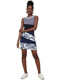 3e88b012d2f4b Desigual Dress Sleeveless Olivia Woman Blue, Robe Femme