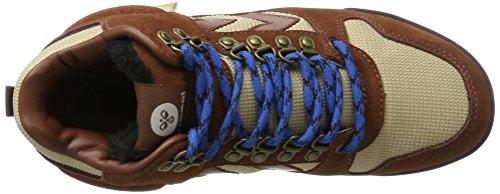 Hummel Nordic Roots Forest, Chaussures D'entraînement High-athletic Unisexe Marron (marron Friar)