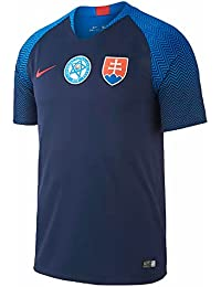 Nike 2018-2019 Slovakia Away Football Soccer T-Shirt Camiseta