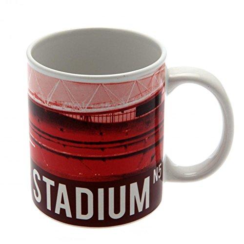 Arsenal Unisex Stadion Becher, Mehrfarbig, 11Oz