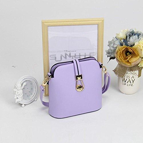 YipGrace Ms. Messenger Bag/Sacchetto Di Colore Della Caramella Moda Giapponese E Coreano/Pacchetto Di Shell Mini/Borsa A Tracolla Viola