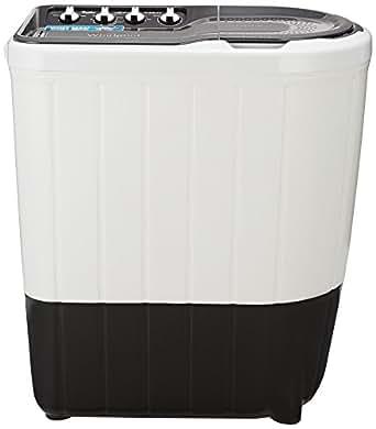 Whirlpool 6.5 kg Semi-Automatic Top Loading Washing Machine (Superb Atom 65S, Dark Grey)