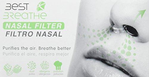 Best breathe nasenfiltersystem - Dilatador nasal best breathe con filtro (s)