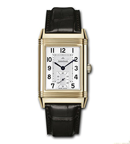 jaeger-lecoultre-reverso-herren-armbanduhr-armband-leder-braun-handaufzug-zifferblatt-silber-q373242
