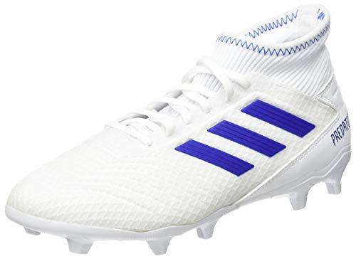Adidas predator 19.3 fg, scarpe da calcio uomo, multicolore (ftwbla/azufue/azufue 000), 44 2/3 eu