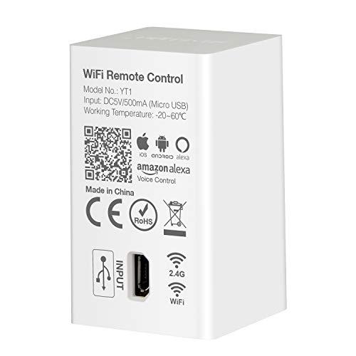 LIGHTEU®, Milight Wifi LED-Controller für alle Milight Smart-LED-Licht-Serie, Amazon Alexa Echo Sprachsteuerung, Smartphone PP-Steuerung, IOS Android, YT1 -