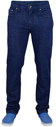 True Face, jeans elasticizzati da uomo, in cotone Dark Blue 40W x 32L