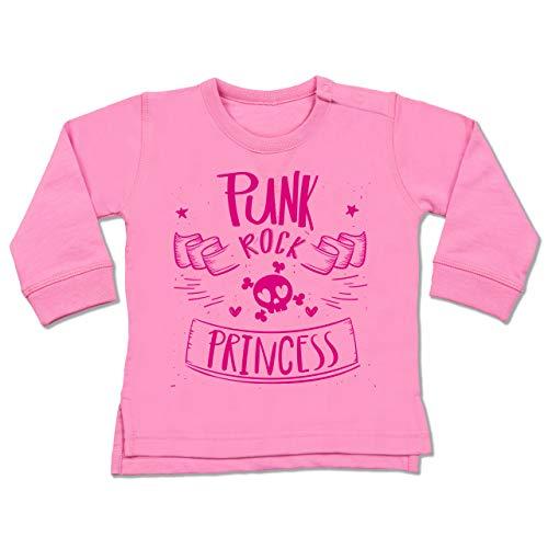 Rock Princess - 18-24 Monate - Pink - BZ31 - Baby Pullover ()