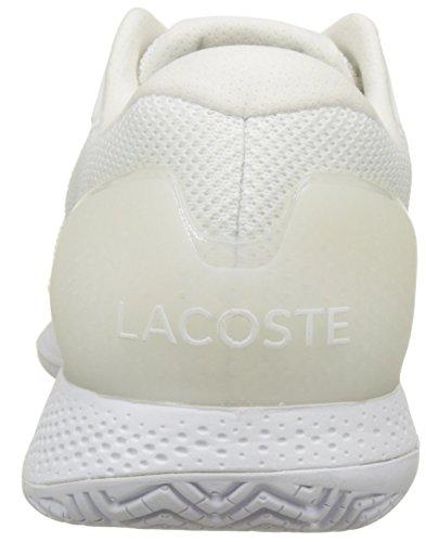 Lacoste Lt Pro 117 1 Spw Wht, Basses Femme Blanc (Wht)