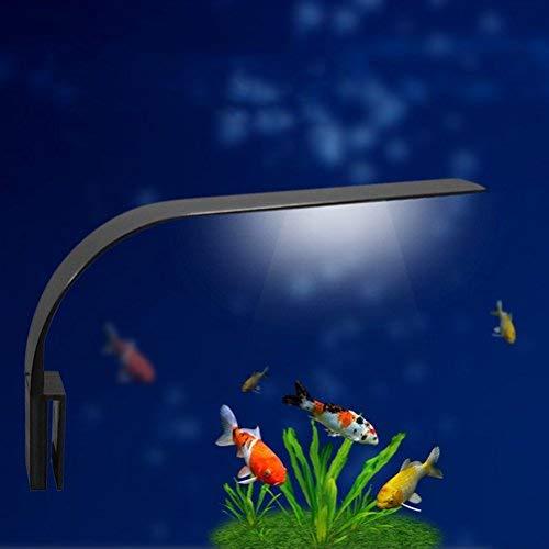 Luce LED acquario UEETEK Lampada clip per acquario luminoso con luce bianca