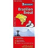 Michelin Brasilien: Straßen- und Tourismuskarte 1:2.250.000 (Michelin Nationalkarte)