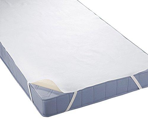 4myBaby BESONDERE TECHNIK Matratzenschutz Wasserdicht Matratzenschoner Wasserdichte Betteinlage Frottee 60x120 cm bis 220x200 cm - 12 Größen (70x160)