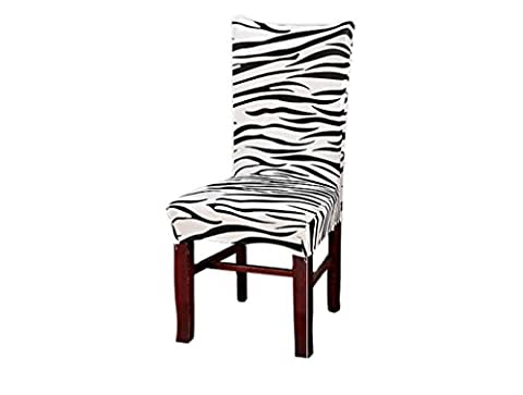 Crazy Shop Removable Washable Chair Seat Covers Chair Slipcovers fpr Hotel Dining Room Ceremony Kitchen Bar Dining Wedding