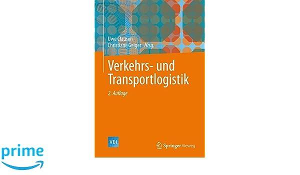 verkehrs und transportlogistik vdibuch