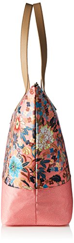 Oilily Damen Daily Shopper Schultertasche, 17 x 37 x 54 cm Pink (Shell Pink)