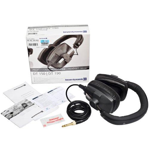 Beyerdynamic DT 150 Ohrumschließend Kopfband Schwarz - Kopfhörer (Ohrumschließend, Kopfband, Verkabelt, 5-30000 Hz, 97 dB, Schwarz) - 5