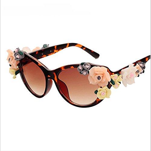 Polarisierte Sportart Sonnenbrille Fahrerbrille mit unzerbrechlichem Anti-Kratzer-Rahmen Anti-Diebstahl für Männer und Frauen Radfahren Fahren Fischen Fahren Wandern Golf ( Color : Brown ) (Sexy Geek Kostüme)