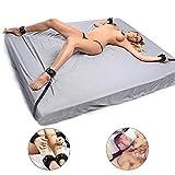 Bondage Set SM Bondage Sex Fesselset 11 Teilig Bett Fesselset Sexspielzeug Für Paare, Frauen und Männer, extrem BDSM Spielzeug Set