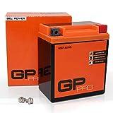 Batterie 12V 6Ah Gel GP-Pro (Typ - GTX7L-BS/ähnlich YTX7L-BS) (versiegelt/wartungsfrei)