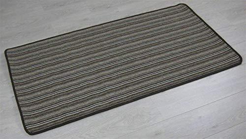 XIAOPING-YANG Antideslizante y Silencioso Alfombra Brown, 80 X 500 Cm