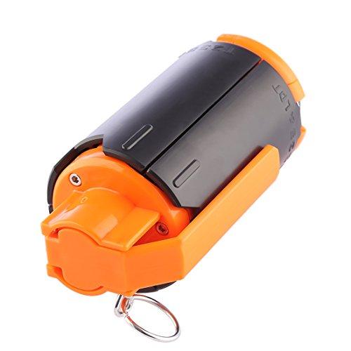 FOKOM Grenade de l'Eau Grenade à Jouet Water Beads Bomb en Plastique Bombe à l'Eau Grenade Jouet Tactique Modifié pour Nerf Rival