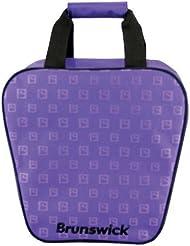 Brunswick Dyno - Bolsa de bolos, color púrpura