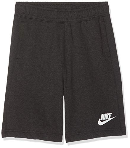 Nike Jungen B NSW Advance Shorts, Grau (Dark Grey Heather/010), XS