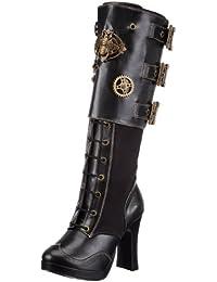 Pleaser Women s Crypto-302 Knee-High Boot