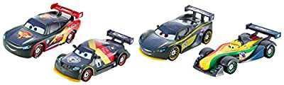 Mattel Disney Cars DHM95 - Verkehrsmodelle, Carbon Racers Die-Cast 4-er Pack von Mattel Disney Cars