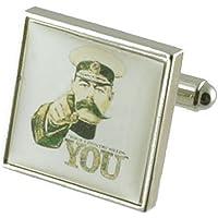 Guerra mondiale Kitchener-Gemelli da uomo in argento