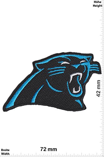 sports shoes ab970 ca73d Patch-Iron-Carolina Panthers - Football - NFL -USA - Motorsport - Sport -  Sport USA - - Iron On Patches - Aufnäher Embleme Bügelbild Aufbügler