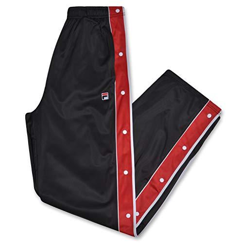 Fila Mens Big and Tall Snap Away Track Pants (Herren-hosen Tall Big)