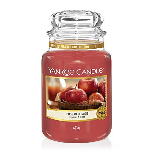 Yankee Candle, große Duftkerze im Glas, Ciderhouse, Farmers' Market Kollektion -