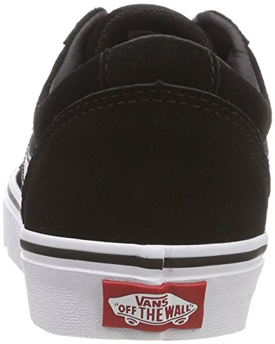 Vans Women's Ward Low-Top Sneakers, (Suede) Black/White 0xt, 5.5 UK