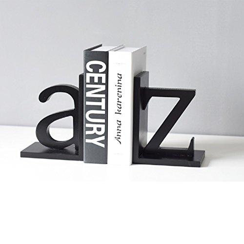 Retro dekoration nordeuropa simple modern letters buchstützen kreativ studie buch-schwarz