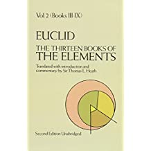 EUCLID. The Thirteen Books of The Elements: Volume 2: Books 3 to 9
