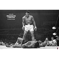 1art1® Muhammad Ali - Vs. Sonny Liston VI Poster (91 x 61 cm) Ohne Rahmen