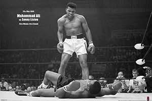 Muhammad Ali - Vs. Sonny Liston VI Poster (91 x 61 cm) Ohne Rahmen