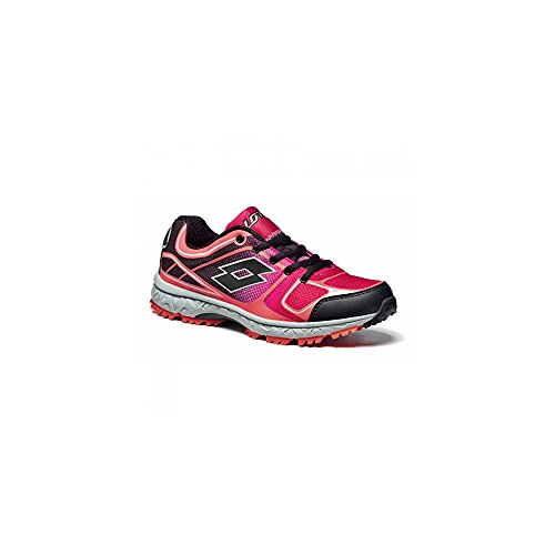 Lotto, Scarpe da Trail Running donna rosa-nero
