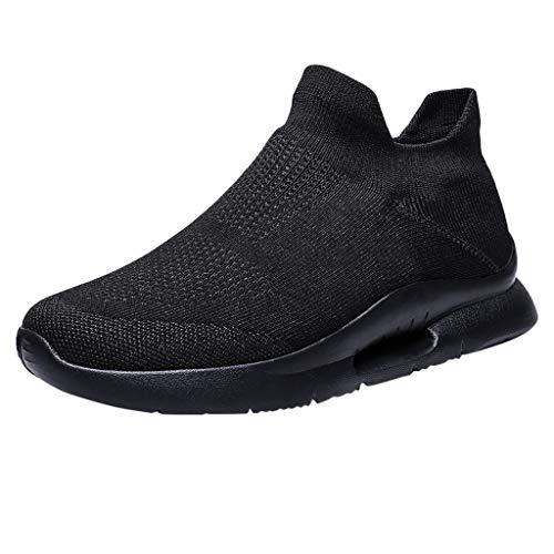 VBWER Scarpe da Ginnastica Corsa Sportive Fitness Running Sneakers da Uomo Scarpe da Corsa Traspiranti Antiscivolo Streetwear Scarpe Casual da Passeggio