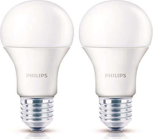 Philips Base E27 13-Watt LED Bulb (Warm White,Pack of 2)