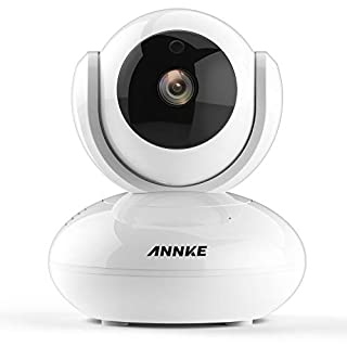ANNKE 1.0MP HD Smart Wireless IP Camera, Day Night Pan / Tilt Baby Monitor / 720P Surveillance Camera- Motion Detection Alarm, Digital WDR and 3D DNR