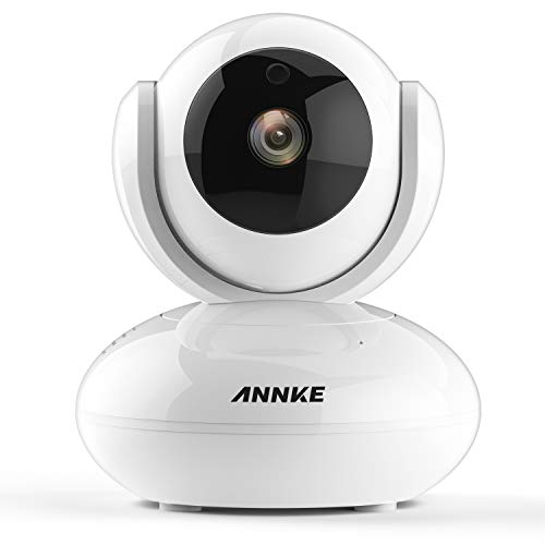 ANNKE 1 0MP HD Smart Wireless IP Camera, Day Night Pan / Tilt Baby Monitor  / 720P Surveillance Camera- Motion Detection Alarm, Digital WDR and 3D DNR
