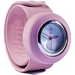 Original Slappie Pastel Pink Slap Watch (BBC Dragons Den Winner) Adults/Kids Size Small