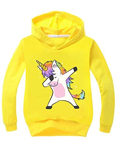 Sudadera Unicornio Niña Chicas Sudaderas Capucha